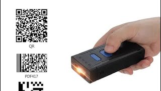 Symcode MJ2877 2D/QR Code Portable Wireless Bluetooth Barcode Scanner / Cara penggunaan screenshot 2