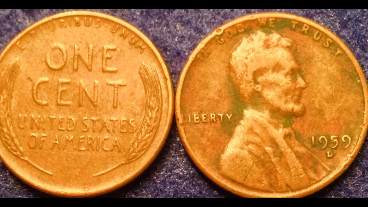 1959-D Mule Cent Penny- Sold For $48,300 In 2003