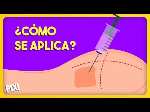¿Cómo se aplica un a inyección? (Intramuscular)
