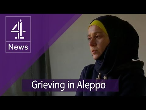 Inside Aleppo: a grieving family in the West