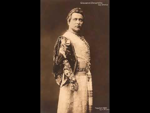 OTELLO: Giovanni Zenatello ~  LIVE at Covent Garden (1926)