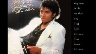 Michael Jackson - Human Nature (lyrics)