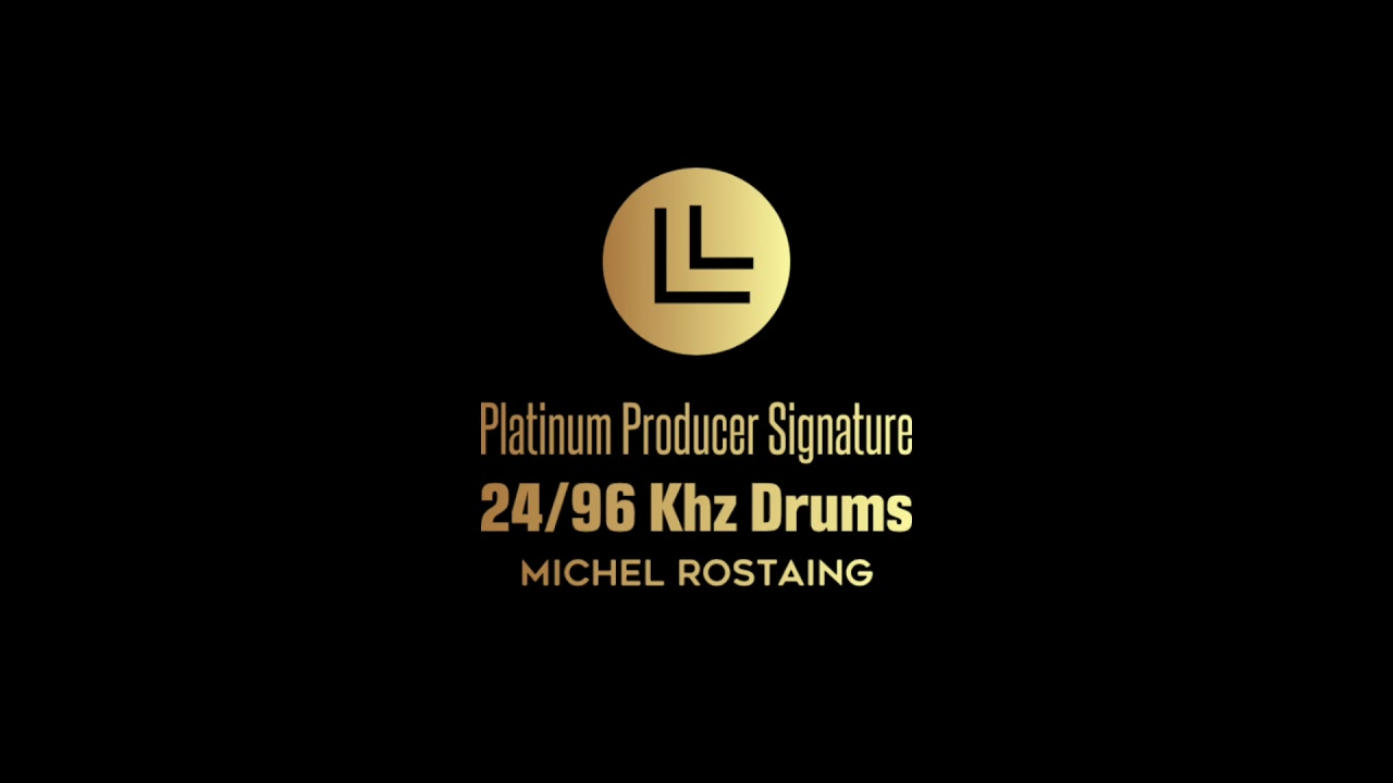 PLATINUM PRODUCER SIGNATURE 24/96 DRUMS By Michel ROSTAING FOR KONTAKT.