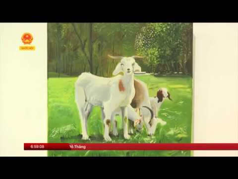 3rd International Art Exhibition 2017, News Coverage National Assembly TV  , Hanoi, Vietnam