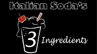 How To Make Italian Cream Soda's