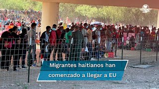 Miles de extranjeros, sobre todo haitianos, cruzaron el río Bravo, pues buscan ser detenidos por guardias fronterizos para iniciar los trámites de estadía, afirman autoridades de EU