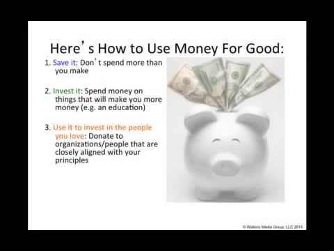 Wealth Building Fundamentals - Dr  Boyce Watkins