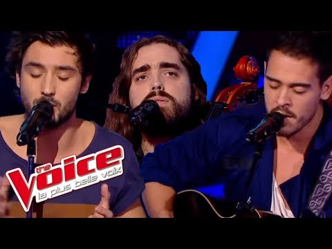 Vanessa Paradis – Il y a | Fréro Delavega VS Quentin, | The Voice France 2014 | Battle