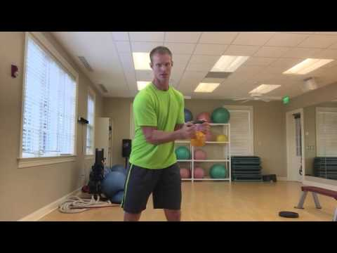 Kettle bell workout for golf