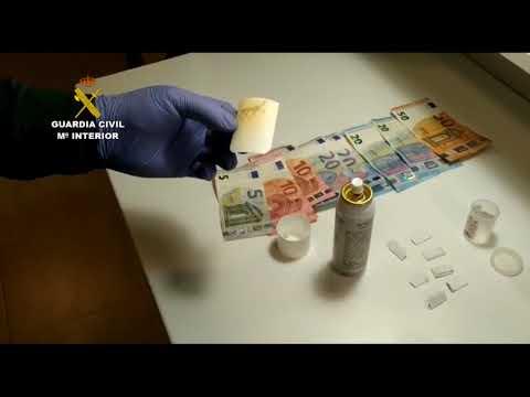 Detenidos dos hombres que transportaban droga en Montoro