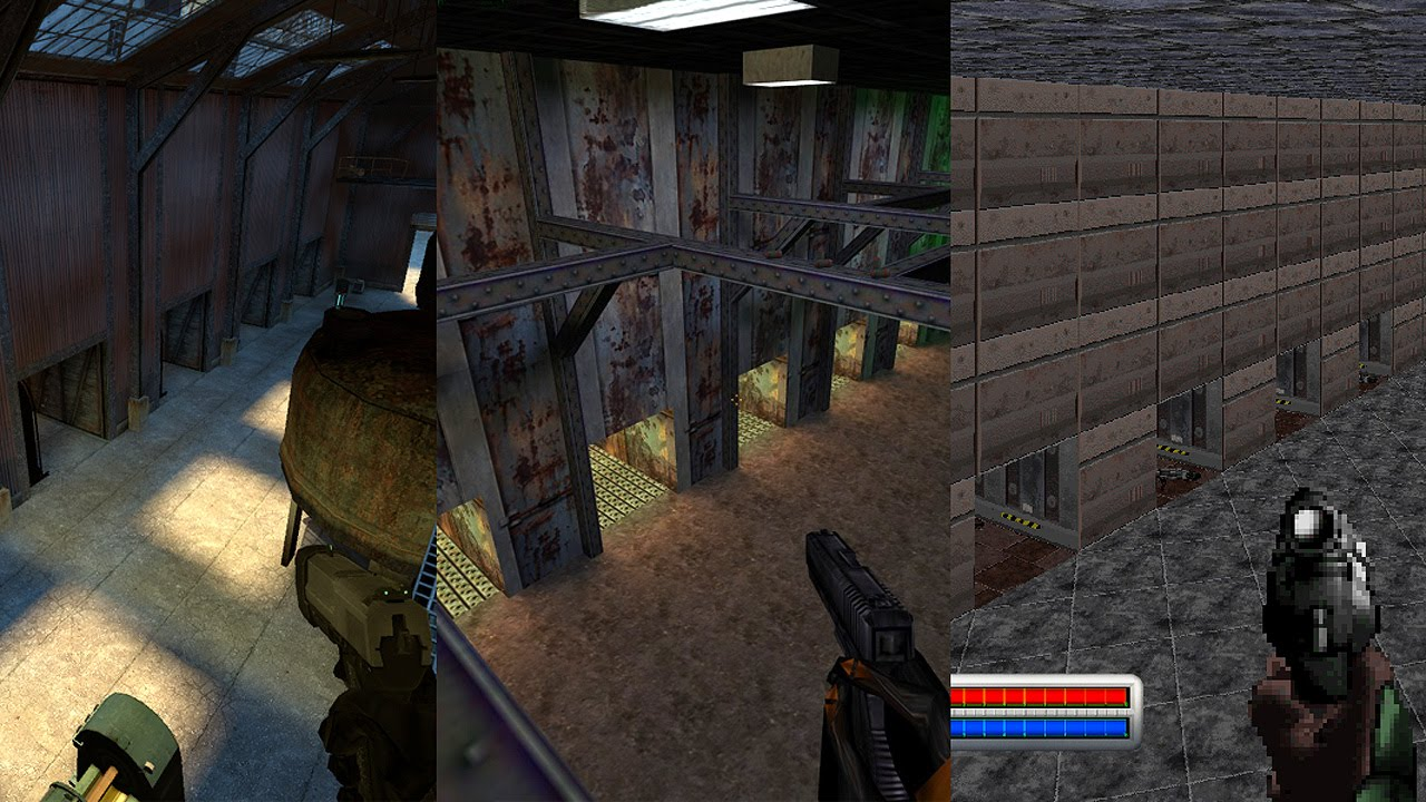 Half-life 2: deathmatch / marathon halls3 evolution youtube.