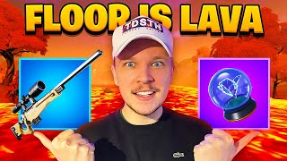 🔴THE FLOOR IS LAVA est de RETOUR ! (boutique à 2h)