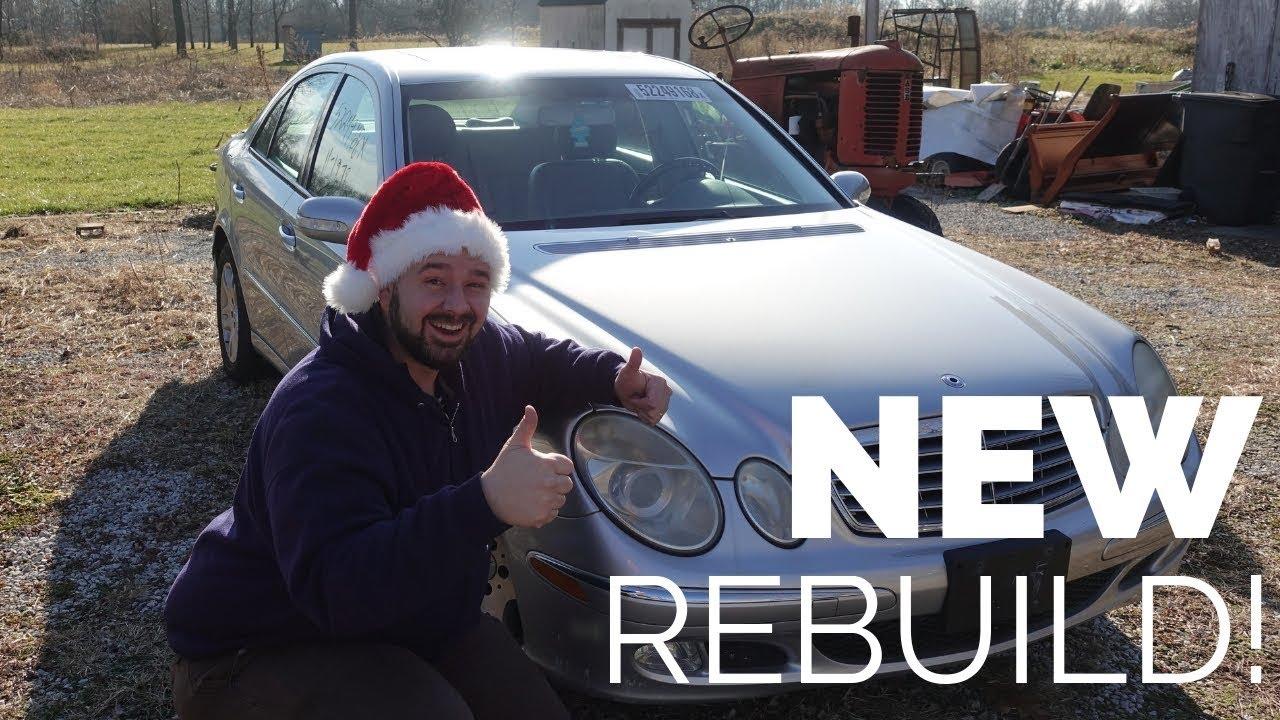 Download NEW REBUILD!! 2004 Mercedes-Benz E320 4Matic Rebuild Project Intro