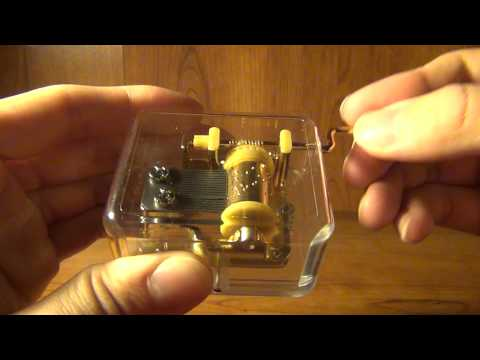 Luxury Plastic Music Box with the Spirited Away Tune (Always with Me)
