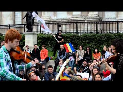 Classical recital to save Rosia Montana - Trafalgar Square - 29 Sep 2013