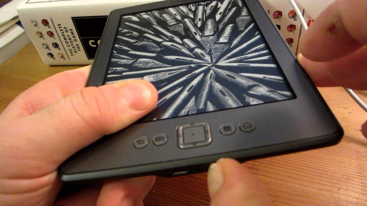 Amazon Kindle Locking Up/Freezing