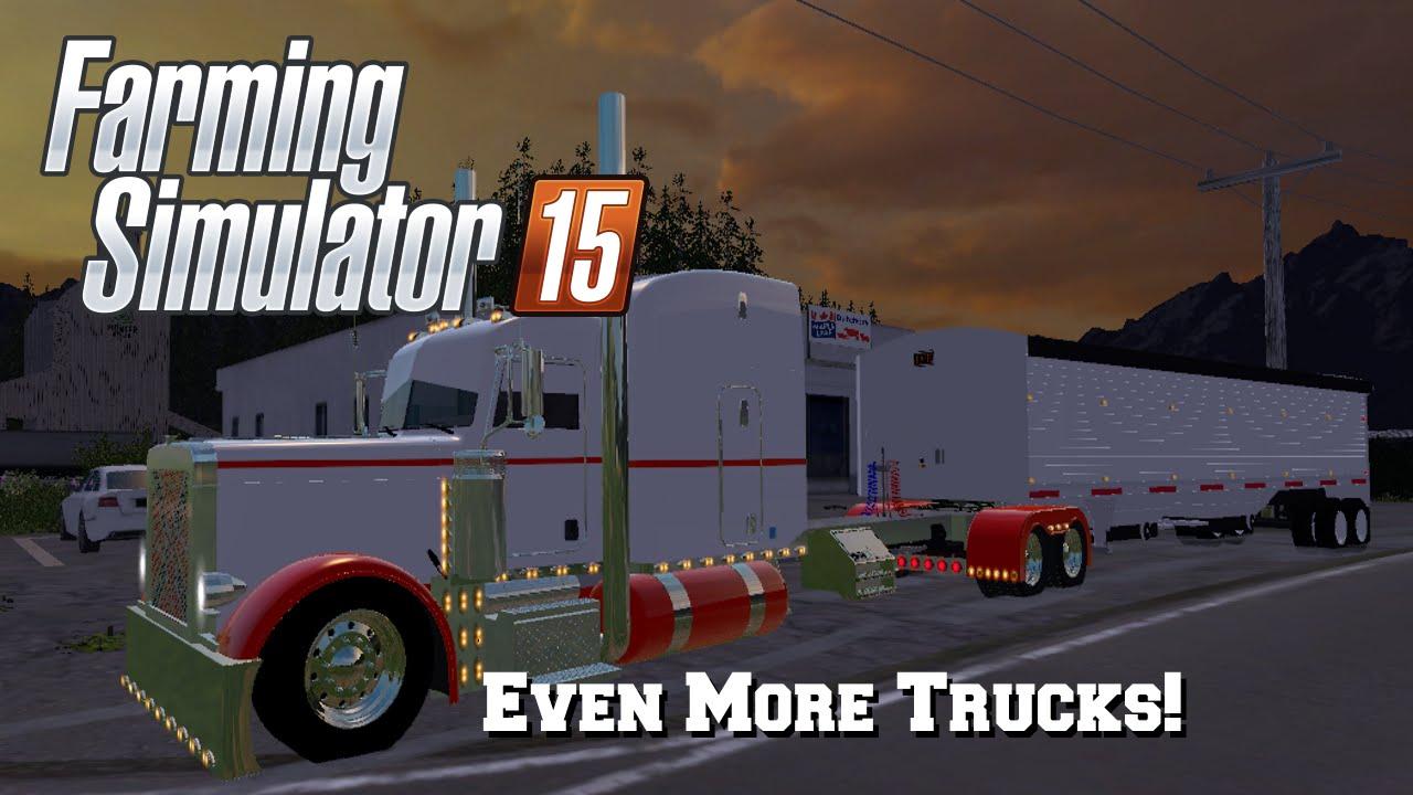Farming Simulator 2015: Mod Spotlight #44: Even More Trucks!