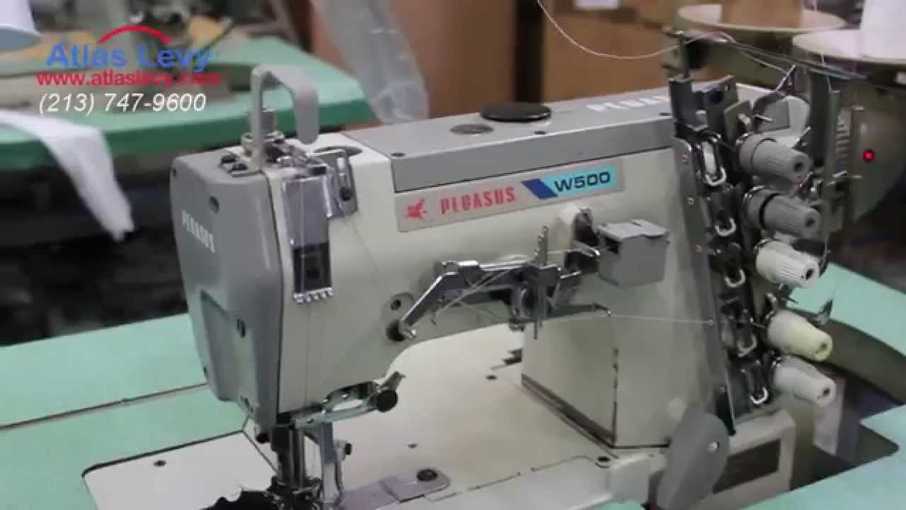 coverstitch pegasus w500 atlaslevy sewing machine co youtube rh youtube com