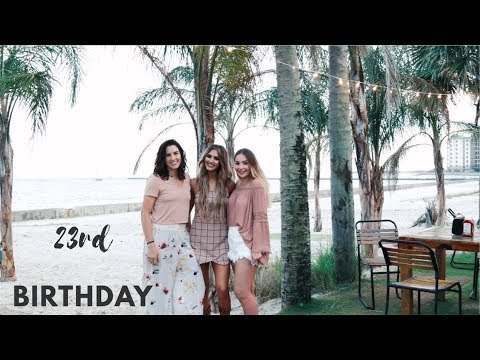 MY 23RD BIRTHDAY! | Paige Danielle