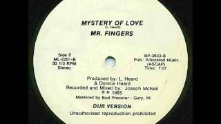 Mr. Fingers // Mystery Of Love (Dub Version 1985)