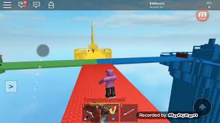 Playing roblox with a p#u$$&