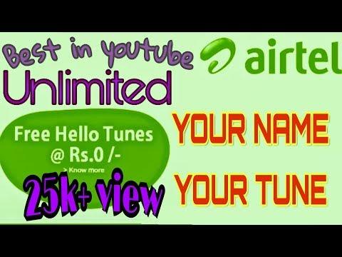 Easy Airtel caller tune set