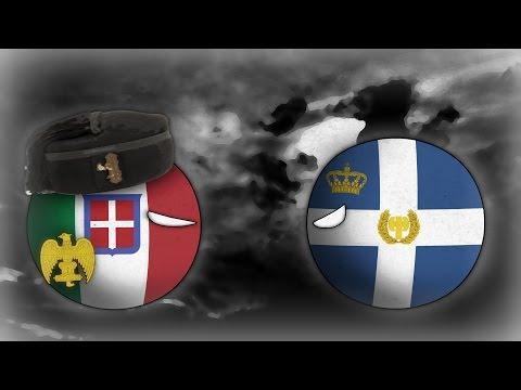 Alternate History: Hoi4 Timelapse (Greco-Italian war 1940)