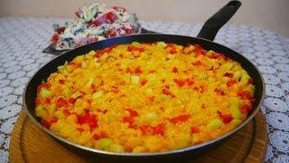 Ужин за 15 минут Кус кус с овощами и легкий салат со сметаной КОГДА просто не хватает времени