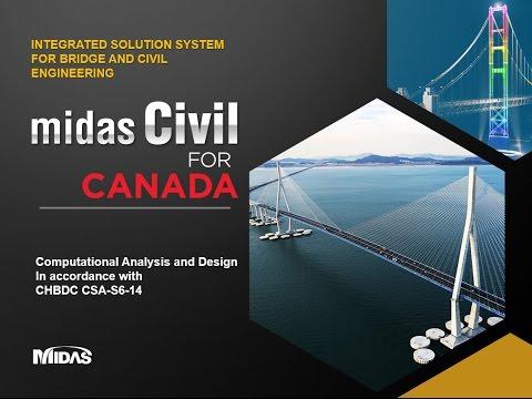 Canadian Highway Bridge Design Code (CSA-S6-14) for Computational Analysis and Design
