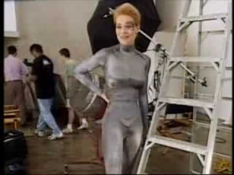 The jerri ryan fighting costume consider