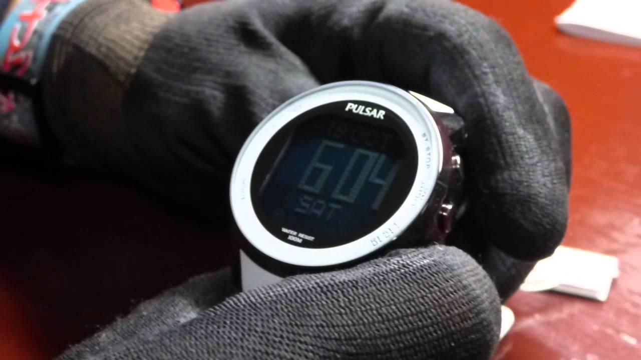 7eb983a22 Reloj digital multi-función PULSAR /SEIKO W861 - YouTube