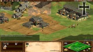 Age of Empires II - 1ª Partida Multijugador En Línea TulioX y Fede (Parte 1)