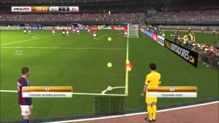 PES 2014 - Copa Libertadores PRIMEIRO JOGO