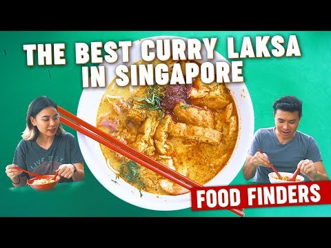 The Best Curry Laksa in Singapore: Food Finders EP4