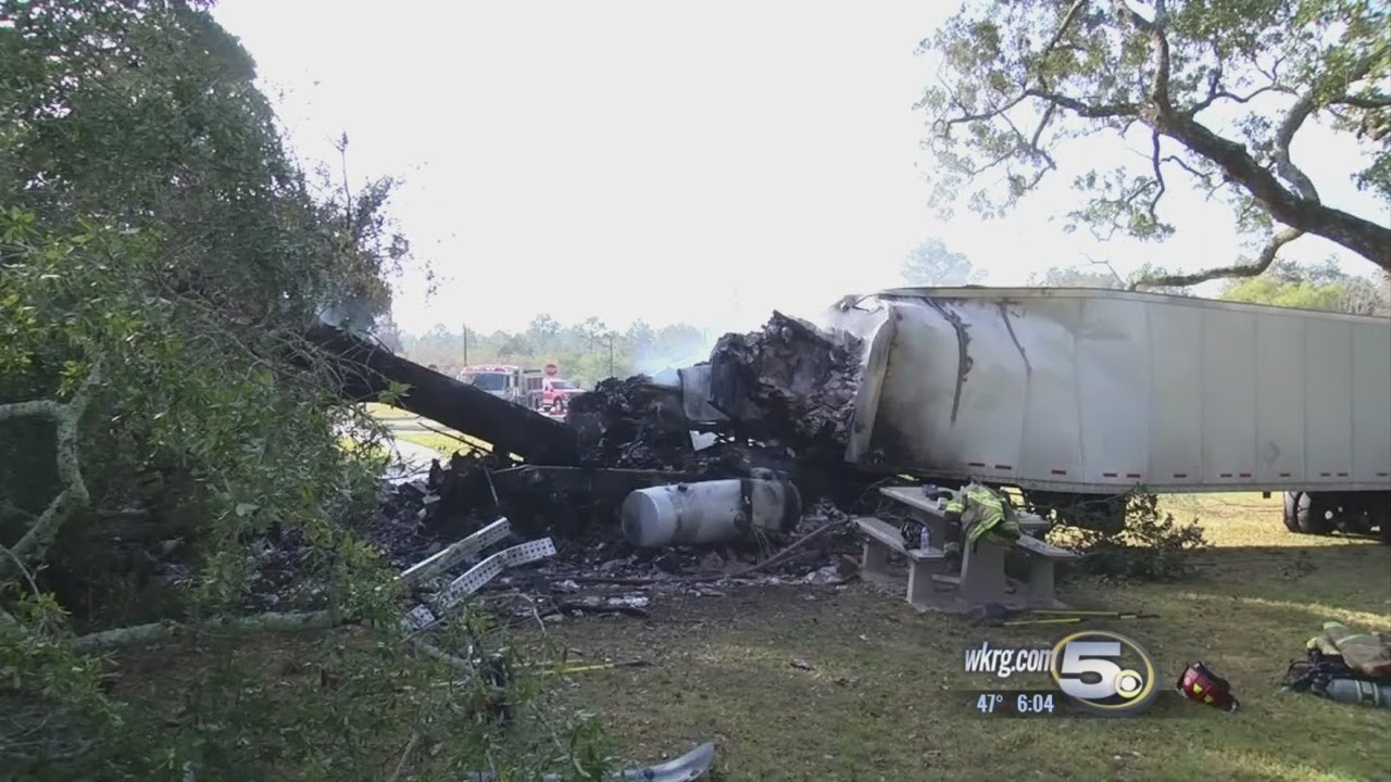 Questions Remain on Fatal Truck Crash at Alabama Welcome Center