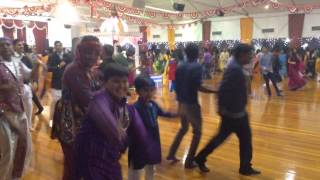 Auckland navratri garba 2013, at Gandhi hall, New Zealand d