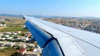 Aegean Airlines A320 Landing in Alexandroupolis (AXD/LGAL)
