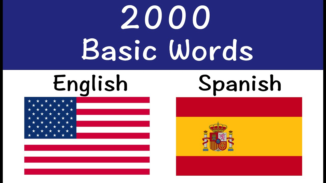 Spanisch English