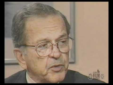Ted Stevens discusses issues facing Alaska