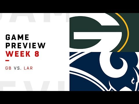 Green Bay Packers vs. Los Angeles Rams | Week 8 Game Preview | Move the Sticks