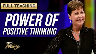 Joyce Meyer: The Power of Positive Thoughts (Full Teaching)   Praise on TBN