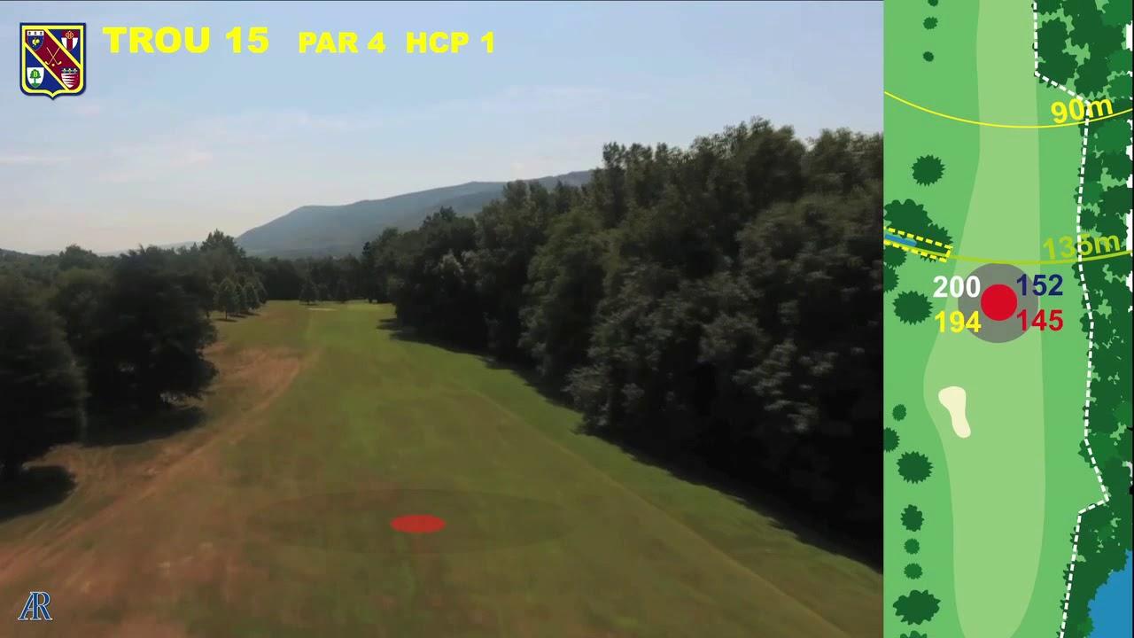 Vidéo du trou numéro 15 | Golf La Barouge Mazamet