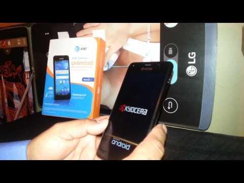 Kyocera C6745 AT&T UNLOCK LIBERACION | Doovi