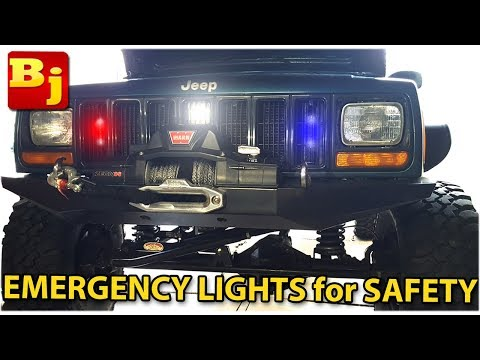 How To Add Emergency Warning Lights To Your Vehicle