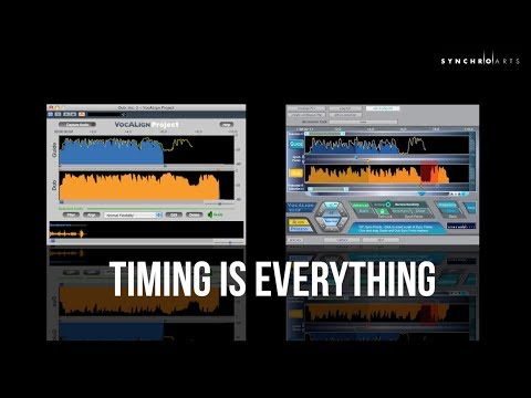 VocALign PRO 4 - Overview - Synchro Arts