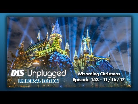 Wizarding Christmas & Volcano Bay Dining Review | Universal Edition | 11/16/17
