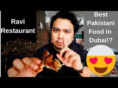 The BEST, most AUTHENTIC and AMAZING Pakistani Food in Dubai | Classic Ravi Restaurant