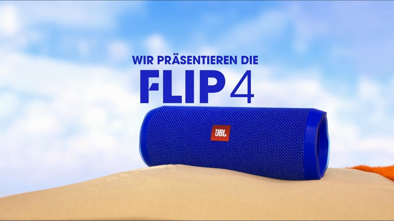 Der neue jbl flip 4 waterproof bluetooth lautsprecher for Housse jbl flip 4