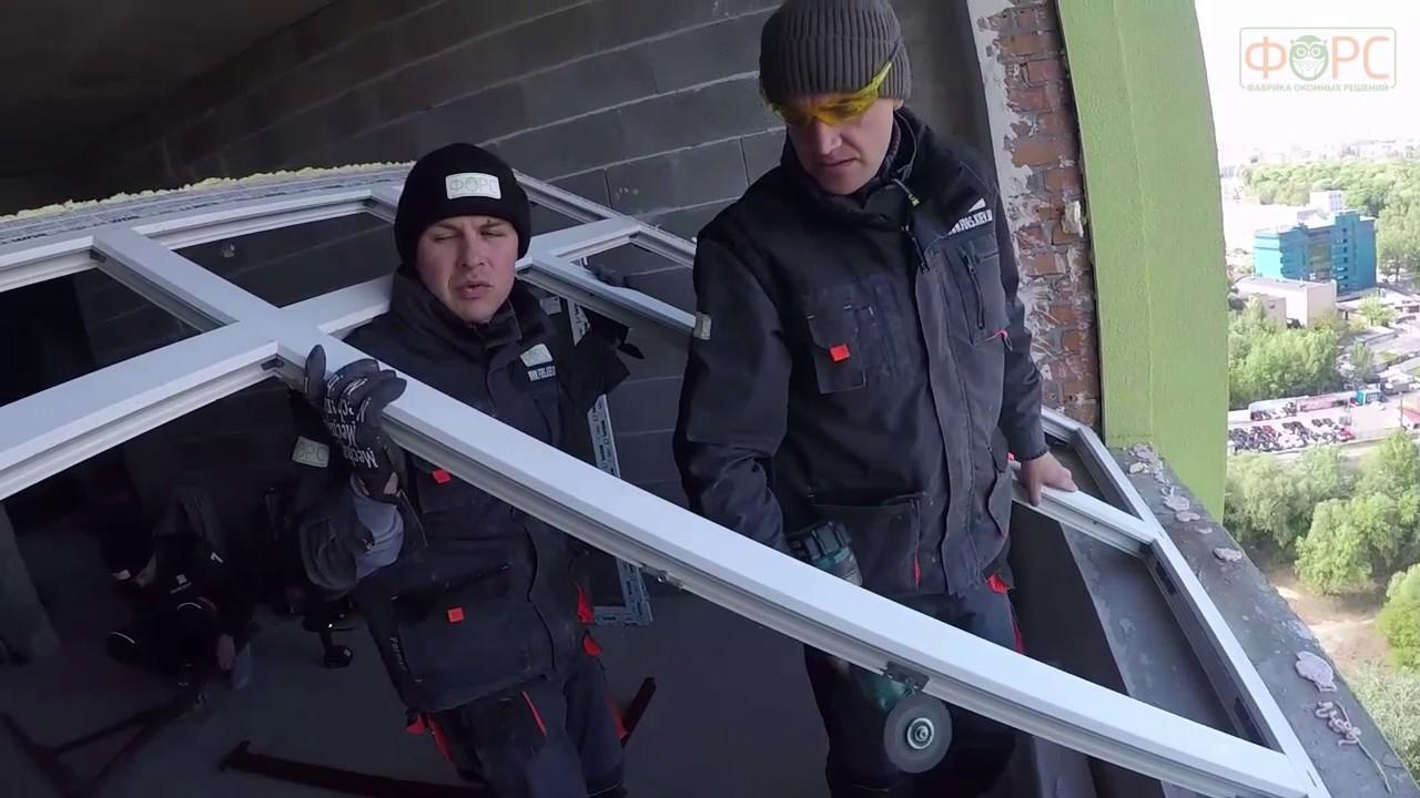 Теплый монтаж окон с применением лент ILLBRUCK - YouTube