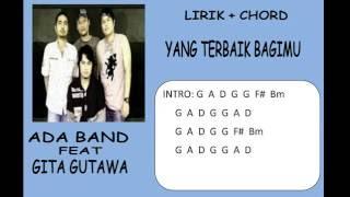 Yang Terbaik Bagimu   Ada Band feat  Gita Gutawa